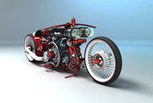 Custom & Concept Bikes / by Janson Castor