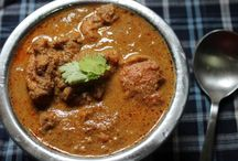 Chicken Curry with Roasted Coconut (Varutharacha Chicken Curry)