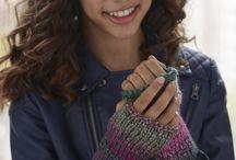Knits - Fingerless Gloves