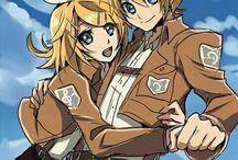 Vocaloid -Rin&Len Kagamine
