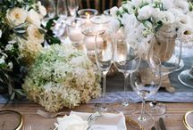 table set for decoration