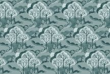 """Fabric collection - """"Into The Woods"""""""