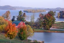 Fall Colors of East Tennessee / Explore the fall season throughout East Tennessee with beautiful views and great things to do and see.