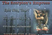 Epic World Tour of Scorpion's Empress / Join us all over the world as Books On Fire Tours and crew feature The Scorpion's Empress