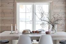 lámparas salón cocina