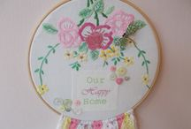 Vintage Embroidery Hoops / by Viva Violette