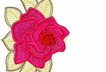 pola bunga