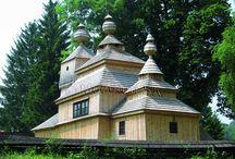 Ľudová architektúra Slovenska- Folk architecture Slovakia