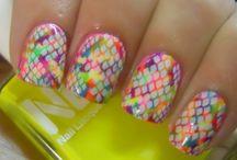 Flashy Nails