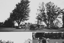 Morgan + Andrew: Real French's Point Rehearsal Dinner / The rehearsal dinner for Morgan and Andrew at French's Point overlooking the ocean in Maine. Real Maine wedding at the waterfront estate of French's Point on the coast with amazing views of the ocean.