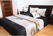 Prehozy na romantickú dekoráciu postele