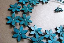 Leather - Flowers & Jewelery