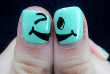 Nail Styles.(; / Fun designs for a manicure at home or anywhere else .<3 / by Leah Noel