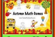 Autumn Teaching Ideas /  Kindergarten, First Grade, Second Grade teaching products and ideas for Autumn. Pin up to 10 things per day. Happy Fall!