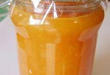 Gyömbéres  narancsos  lekvár