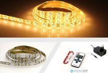 SMD LED Streifen einfarbig Sets / SMD LED Streifen einfarbig Sets