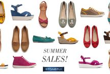 Spring Summer 2014 Sales! / Finalmente sono arrivati i saldi! Rinfrescatevi la memoria su tutti i modelli Stonefly di questa stagione!