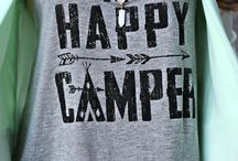 Camping and Funny shirts / by Staci Bassie
