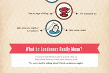 Londoners / London experience and its stuffs