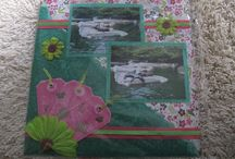 Scrapbook/scrappen/lay outs / My self made scrapbooking pages