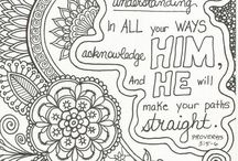 colouring in pages