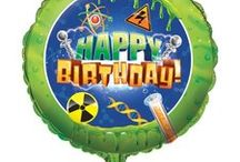 Mad Scientist Party Ideas and Decorations / Create an amazing party for your junior CSI Scientist! Here are some great Scientist party ideas and a collection of our most popular Mad Scientist Party Supplies, which can also be found at http://www.ezpartyzone.com/cat-mad-scientist-party.cfm