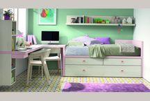 Dormitorios juveniles Parabellum / El nuevo programa de mueble Juvenil KAZZANO completa de forma integral la línea de mobiliario para el hábitat previsto para su lanzamiento a principios de 2015. El primer programa de Juvenil nace con una línea de diseño muy depurada, fresca y actual.