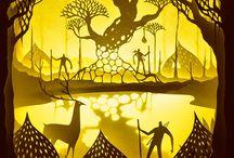 Amazing Light Box Dioramas by Hari & Deepti. / Amazing Light Box Dioramas by Hari & Deepti ,who construct elegant cut paper dioramas inside backlit light boxes.  -----------------------------------------------------------------------------  SULEMAN.RECORD.ARTGALLERY: https://www.facebook.com/media/set/?set=a.396360260573999.1073741905.286950091515017&type=3  Technology Integration In Education: