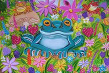 frogs / by Cheri Riddell