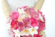 プルメリアブーケ特集*Plumeria Wedding Bouquet