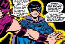 Classic Black Widow / Fishnet Bodysuit Clad Cold War Anti-Heroine.