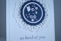 cards - delicate doilies