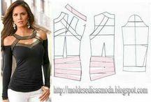 Shirt patterns & ideas