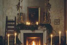 Fireplaces/peis