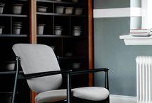 The France Chair, designed by Finn Juhl / Re-launch of the FJ 136, today named the France Chair, designed by Finn Juhl in 1956.