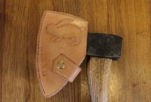 Leather tool covers / Tool covers that I have made