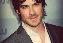 Boy With the Pretty Blue Eyes: Ian Somerhalder♡ / by SARAH♡