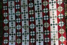 Nine patch quilts