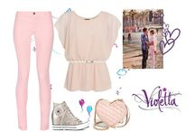 stilul Violetta