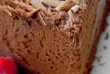 Gâteaux mousse chocolat