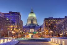 Madison! / Wisconsin's Capital, rolling green hills, fresh trout streams home of Black Earth Meats!
