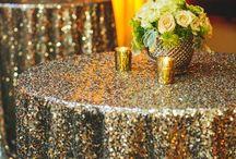 themabruiloft: GLITTER / een trouwdag die je van alle kanten toeschitterd: glitters, glitters en nog meer glitters! Hieronder een paar ideetjes die aansluiten bij het thema glitter.