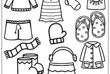 Clothes - English - primary