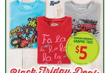 Black Friday Doorbusters 2014 / It's beginning to look a lot like BLACK FRIDAY. Unbelievable prices. Limited time. Doorbuster deals starting at $5! / by OshKosh B'gosh