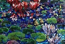 waterlilly art
