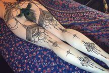 tattooed whahine