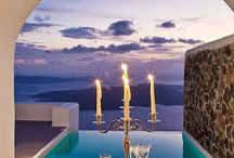 Romance in Santorini / Santorini is the ideal place for utterly romantic holidays. Just watch the magical sunset, wander around the cobbled streets of the villages and sip a glass of Vinsanto overlooking the volcano in the middle of the sea. http://goo.gl/ltj7l5