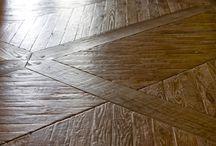 Custom Wood Floors / Custom wood flooring, wide plank floors, parquet flooring, mosaic wood flooring and other bespoke wood floor designs by Archetypal Imagery Corp. 200 Lexington Avenue, Showroom #419, New York, NY 10016