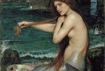 Pre-Raphaelites and Legends / by Daisy Viktoria