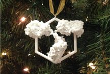 Antibody Ornaments / Adorn your Christmas tree with molecular models, like our IgG antibody ornament.